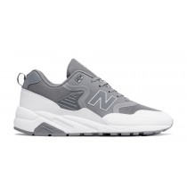 New balance chaussures pour hommes 580 re-engineered casual gunmetal et blanc MRT580-331