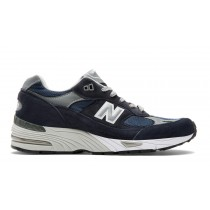 New balance chaussures pour hommes 991 leather casual marine M991-337