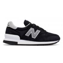 New balance chaussures pour hommes 995 casual noir et argent M995-340