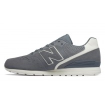 New balance chaussures unisex 996 leather lifestyle gris et blanc MRL996-183
