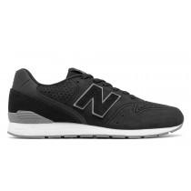 New balance chaussures pour hommes 996 classic noir et gris MRL996-341