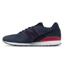 New balance chaussures pour hommes 996 classic marine et rouge MRL996-342
