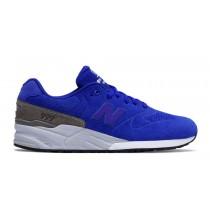 New balance chaussures pour hommes 999 re-engineered casual bleu et gris MRL999-355