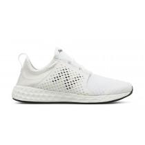 New balance chaussures pour hommes fresh foam cruz course blanc MCRUZ-368