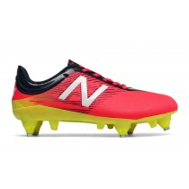 New balance chaussures pour hommes furon dispatch sg jnr football brillant cerise et galaxy et firefly JSFUDS-376