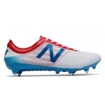 New balance chaussures pour hommes furon pro sg football blanc et atomic et barracuda MSFURS-380