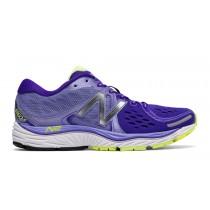 New balance chaussures pour femmes 1260v6 running violet et jaune W1260-298