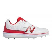 New balance chaussures pour hommes 4050 cricket blanc et rouge CK4050-391
