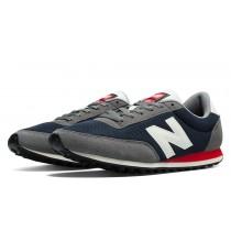 New balance chaussures unisex 410 lifestyle marine et rouge et gris U410-194