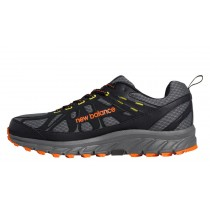 New balance chaussures pour hommes 610v4 course foncé gris et orange et neon jaune MT610-394
