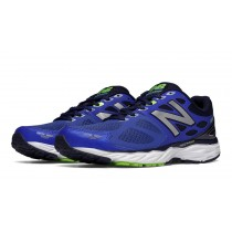 New balance chaussures pour hommes 680v3 running pacific et toxic M680-396