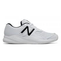 New balance chaussures pour hommes 696v3 tennis blanc et noir MC696-400