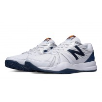 New balance chaussures pour hommes 786v2 tennis blanc et bleu MC786-406