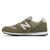 New balance chaussures pour femmes 996 classics lifestyle olive et khaki et gris WR996-350