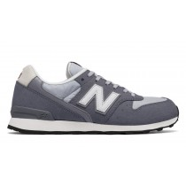New balance chaussures pour femmes 996 classics lifestyle gris et steel et blanc WR996-351