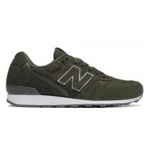 New balance chaussures pour femmes 996 suede lifestyle jade et noir WR996-352
