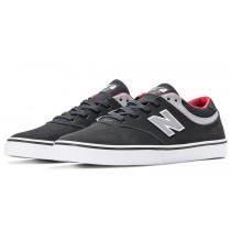 New balance chaussures pour hommes quincy 254 lifestyle noir et gris et rouge NM254-435