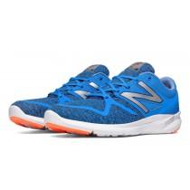 New balance chaussures pour hommes vazee coast course bleu et rouge MCOAS-444