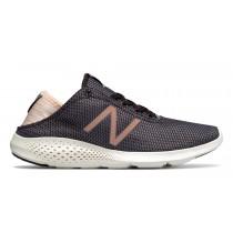 New balance chaussures pour femmes vazee coast running foncé gris et poussièrey rose WCOAS-361