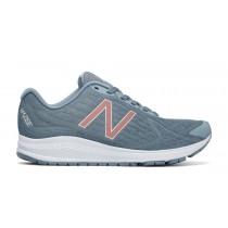 New balance chaussures pour femmes vazee rush v2 running reflection et porcelain bleu et rose d'or WRUSH-372