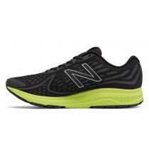 New balance chaussures pour hommes vazee rush v2 running noir et hi-lite MRUSH-460