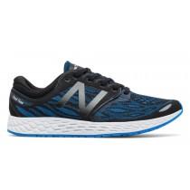 New balance chaussures unisex fresh foam zante running noir et electric bleu MZANT-078