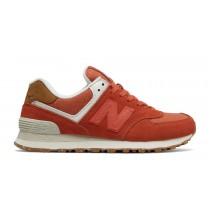 New balance chaussures pour femmes 574 global surf lifestyle rose clay et powder WL574-039