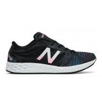 New balance chaussures pour femmes fresh foam 822v3 noir et typhoon et alpha rose WX822-077