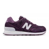 New balance chaussures pour femmes 574 camo lifestyle kite violet et blanc WL574-035