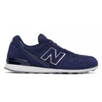 New balance chaussures pour femmes 996 suede lifestyle noir plum et marine et blanc WR996-169