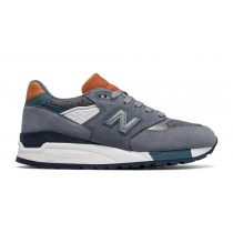 New balance chaussures unisex 998 lifestyle steel et typhoon W998-068