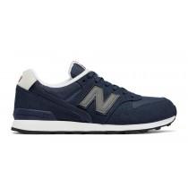 New balance chaussures pour femmes 996 classics lifestyle marine et gris et blanc WR996-167