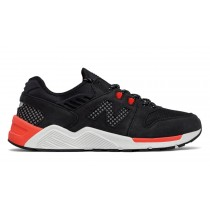 New balance chaussures unisex 009 lifestyle noir et orange ML009-005