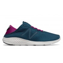 New balance chaussures pour femmes vazee coast running teal et violet WCOAS-182