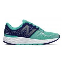 New balance chaussures pour femmes fresh foam vongo running lumière bleu et marine WVNGO-087