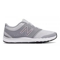New balance chaussures pour femmes 577v4 gris et lumière rose et lumière gris WX577-115