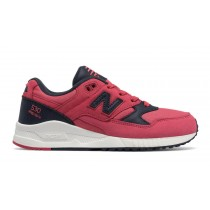 New balance chaussures pour femmes 530 canvas waxed casual radish et outerspace W530-029