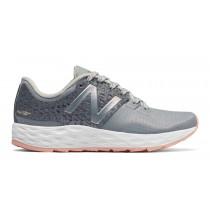 New balance chaussures pour femmes fresh foam vongo running argent et gris WVNGO-088