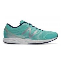 New balance chaussures pour femmes 590v5 running vert et aquarius et argent W590-117