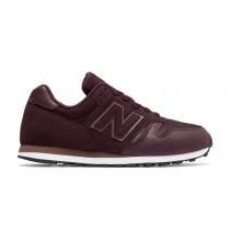 New balance chaussures pour femmes 373 lifestyle noir et lilac et blanc WL373-114