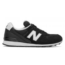 New balance chaussures pour femmes 996 running noir et blanc et gris WR996-165
