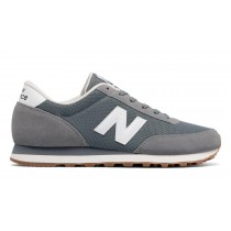 New balance chaussures unisex 501 lifestyle gris et blanc ML501-036