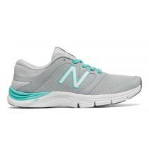 New balance chaussures pour femmes 711v2 entraînement argent vison et aquarius WX711-133