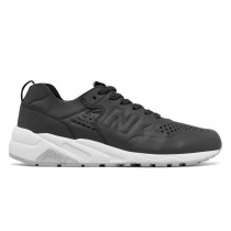 New balance chaussures unisex 580 deconstructed lifestyle noir et blanc MRT580-053