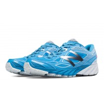 New balance chaussures pour femmes 870v4 course bleu et violet et vert apple W870-152