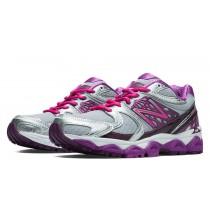New balance chaussures pour femmes 1340v2 course argent et rose zing et violet cactus flower W1340-109