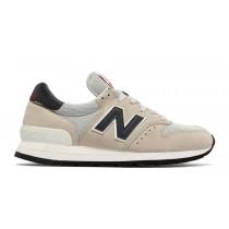 New balance chaussures pour hommes 995 casual le riz blanc et marine M995-078