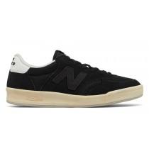 New balance chaussures unisex 300 suede lifestyle noir caviar et blanc CRT300-017