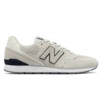New balance chaussures pour hommes 996 classic blanc et marine MRL996-080