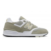 New balance chaussures pour hommes 597 classic trench et blanc ML597-065